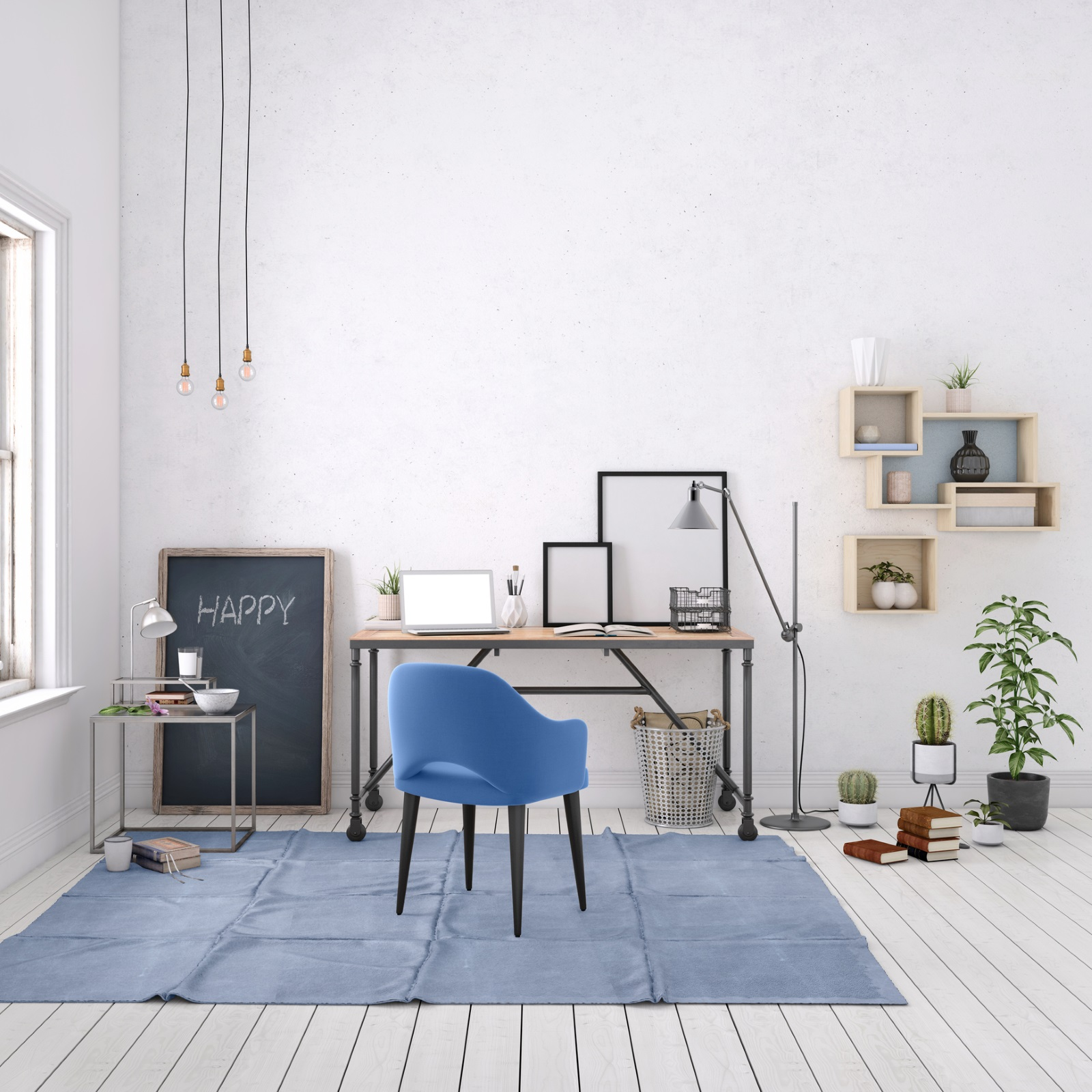 <p>Важното е да персонализирате личното си пространство с предмети, които ви вдъхновяват. Експериментирайте с размерите и наблегнете на снимки с минималистични рамки.</p>