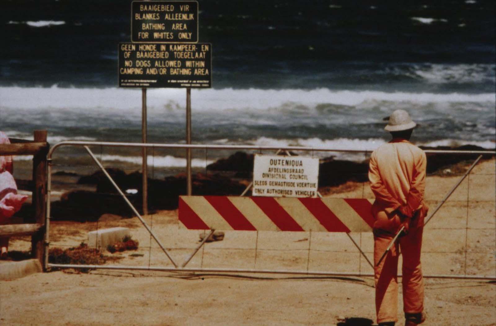 <p>1988, плаж забранен за тъмнокожи.</p>