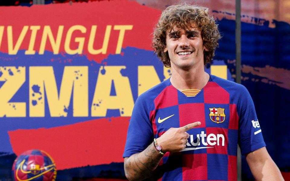 Новата звезда на Барселона Антоан Гризман най-вероятно ще направи своя