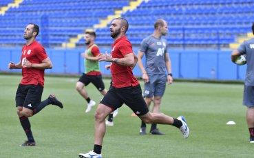 ЦСКА тренира в Подгорица за дуела срещу Титоград