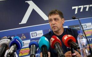 Хубчев отговори култово на въпрос за селекцията и предупреди играчите