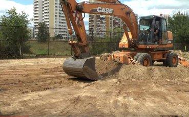Левски започна изграждането на нови терени за ДЮШ