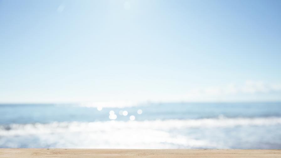 Жена мами с почивки на морето