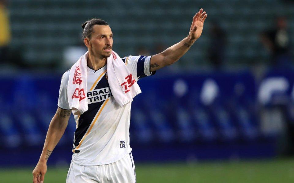 Ибрахимович продължава да ниже гол след гол