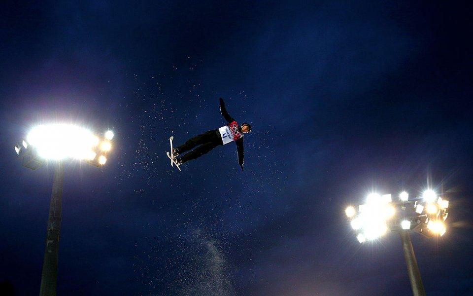 Големият шампион на Беларус в скоковете в ските-свободен стил Алексей