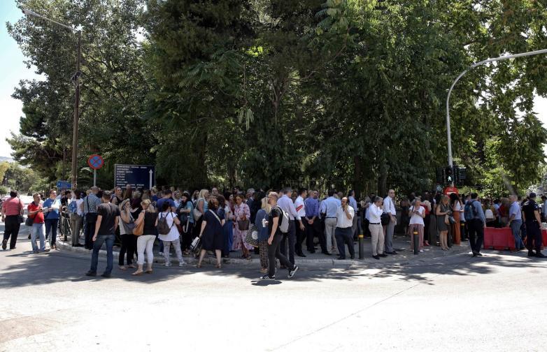 Гърция земетресение