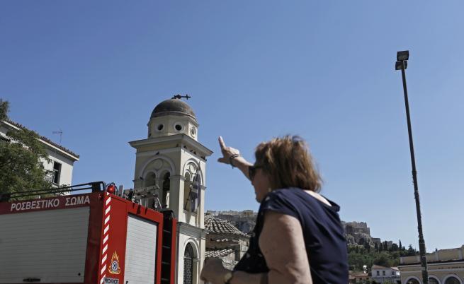 Серия вторични трусове разлюляха Гърция след земетресението