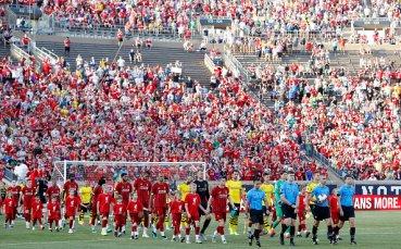 Борусия надигра Ливърпул в голово шоу