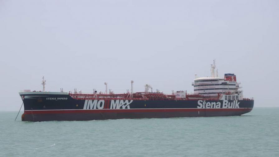 <p>Иран превзе британски танкер, Лондон заплаши</p>