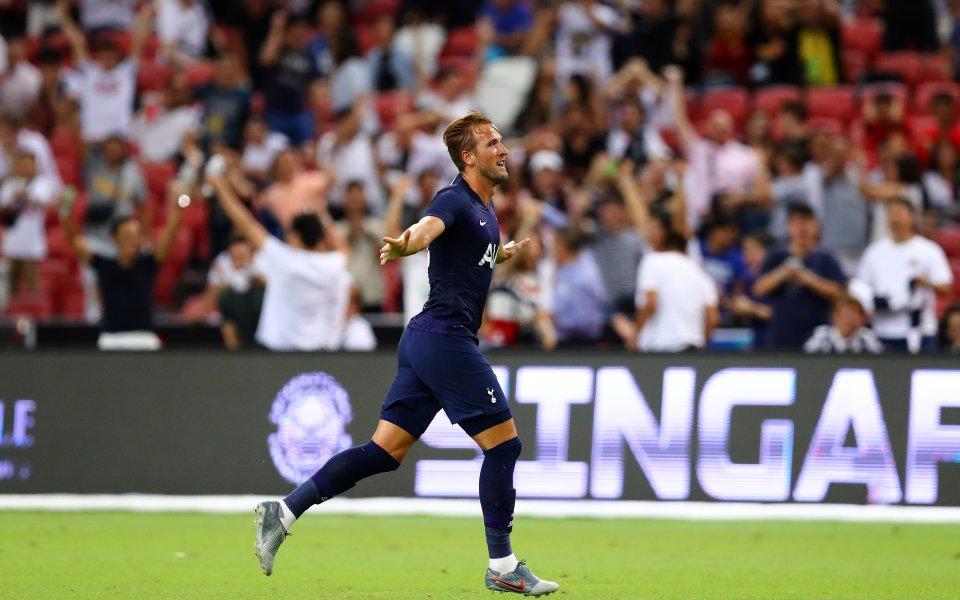 Английският Тотнъм победи с 3:2 италианския шампион Ювентус в Сингапур.