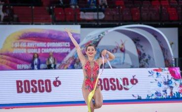 Валерия Ватова остана на косъм от престижен медал (видео)