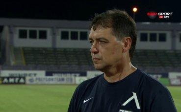 Хубчев: Видях хубави неща, ще има развитие с трансферите