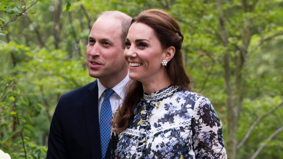 Кейт и Уилям кралско семейство