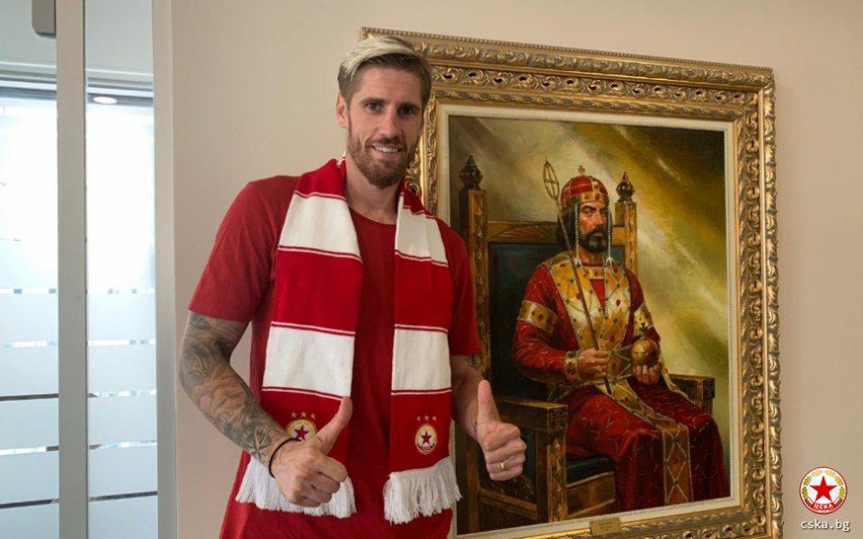 Снимка: ЦСКА подписа с испански защитник