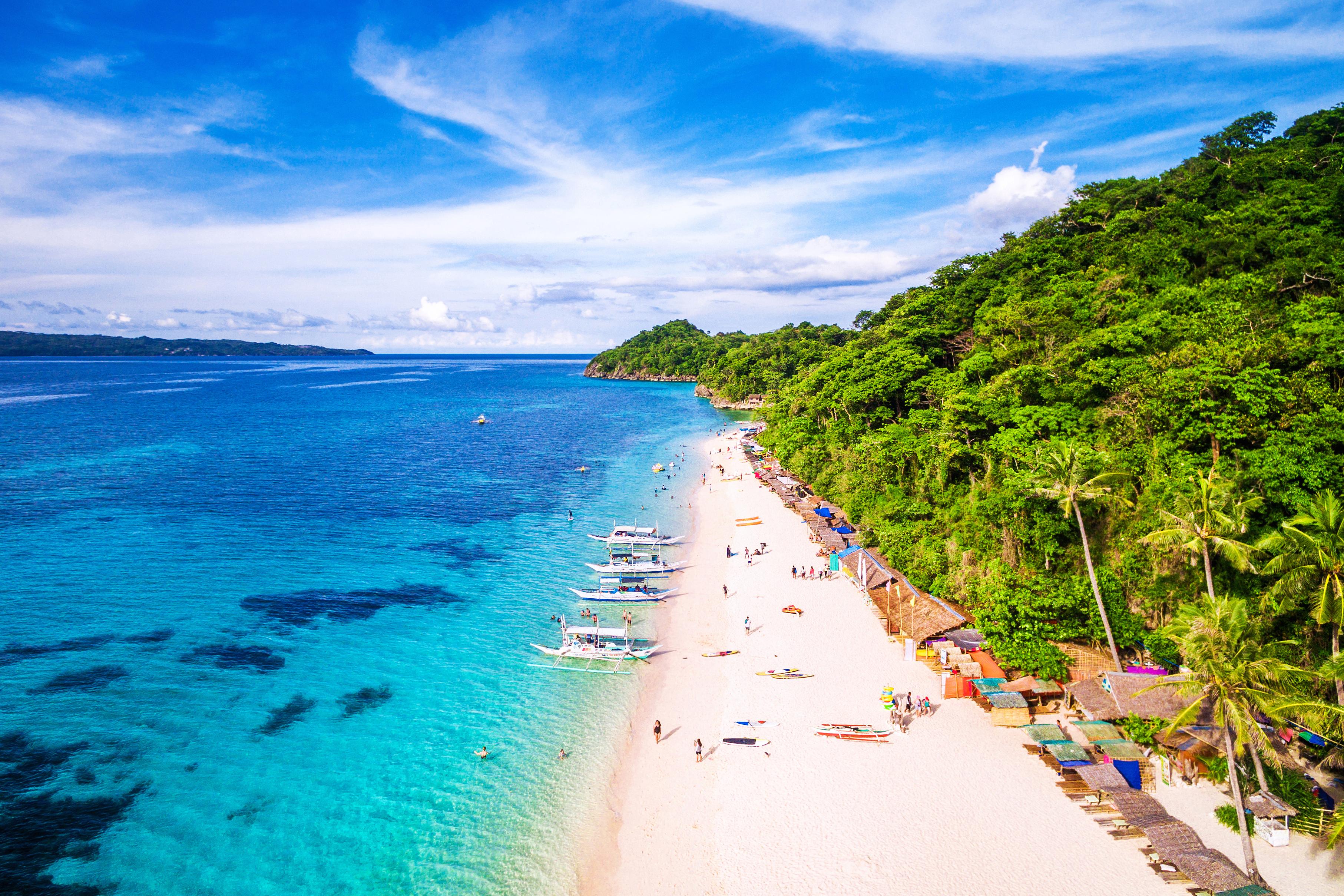 <p>Боракай, Филипини.</p>