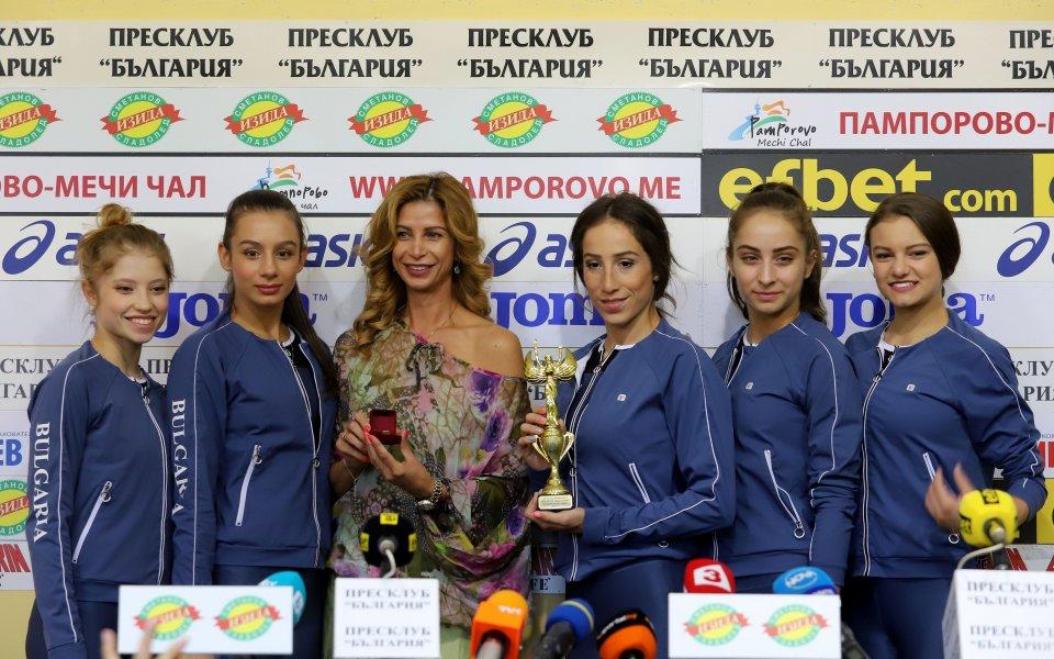 Снимка: Весела Димитрова обеща красиви трика и тежка работа в залата