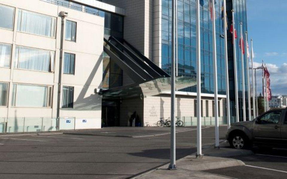 Снимка: Лудогорец  пристана в луксозен хотел в Рейкявик за Валур