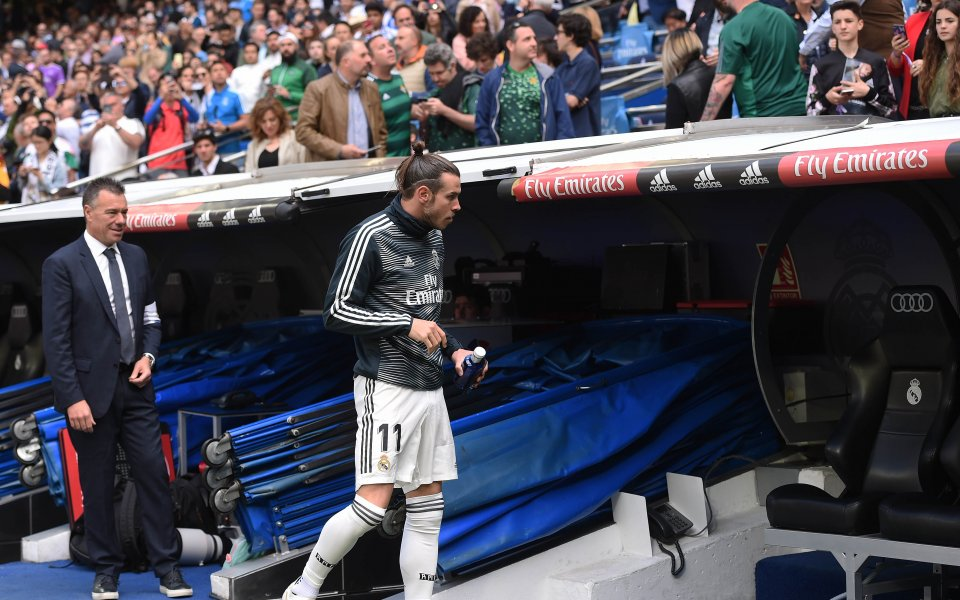 Изпадналият в немилост в Реал Мадрид Гарет Бейл се завърна