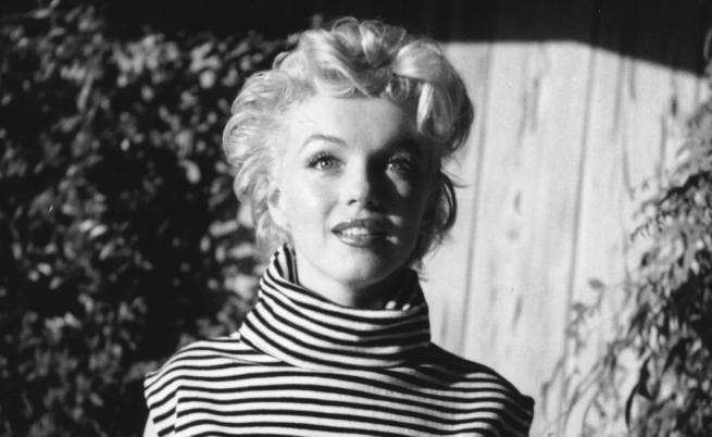 Редки снимки на Мерилин Монро без грим