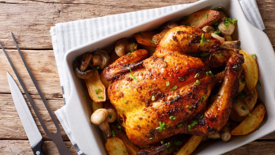 Как се готви цяло пиле - 3 вкусни рецепти