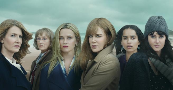 """Снимка: Телевизионна терапия с 5 истински жени и 1 лъжа, или колко големи са """"Големите малки лъжи"""" в сезон 2"""
