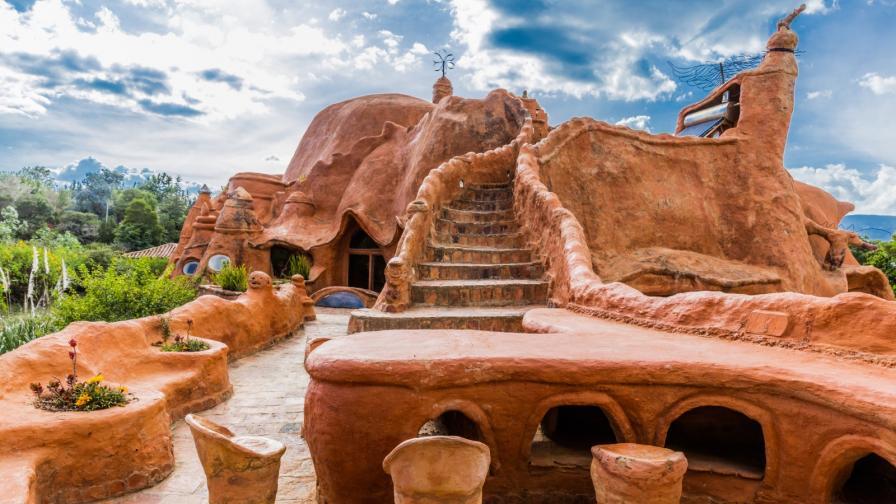 <p><strong>Къщата от глина в Колумбия, </strong>истинско произведение на изкуството</p>