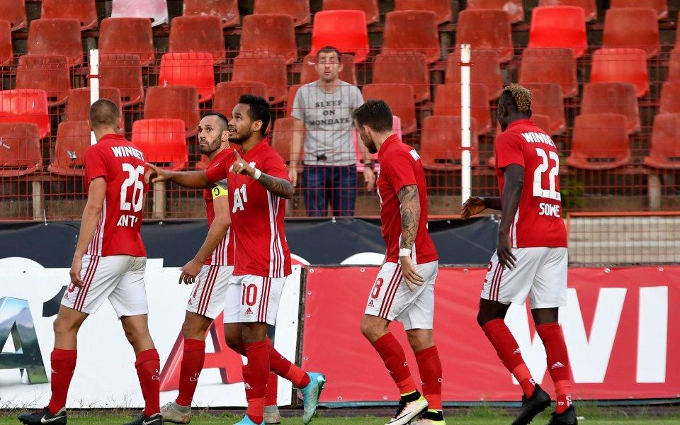 Oтборът на ЦСКАще играе плейоф за влизане в Лига Европа