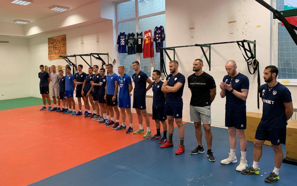 Волейболистите на Владо Николов подновиха тренировки