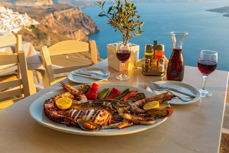 ресторант море храна