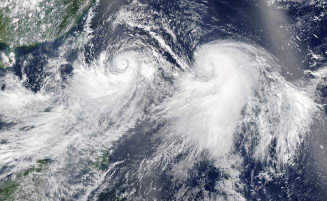 Мощен тайфун приближава Китай и Япония