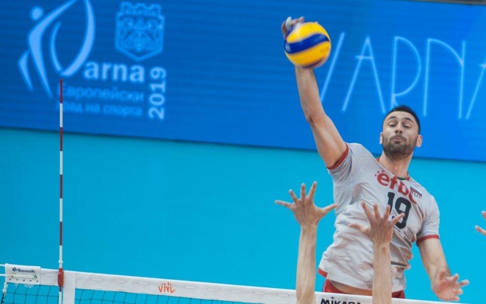 Либерото на националния отбор по волейбол Теодор Салпаров наблегна на