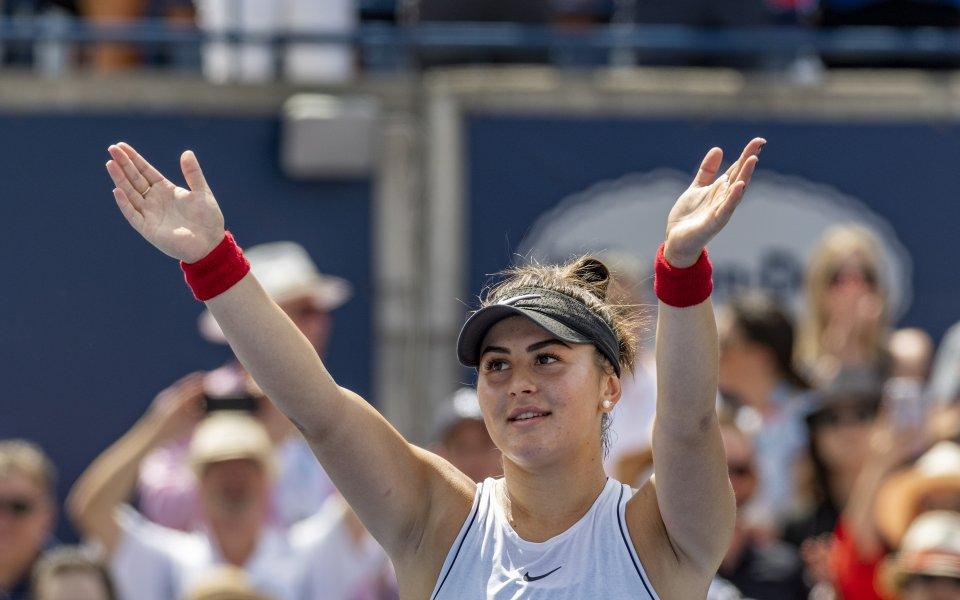 Андрееску спечели в Торонто, след като Cерина се отказа заради травма