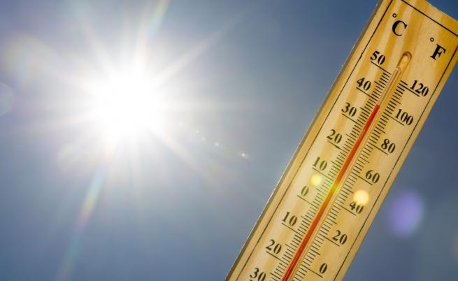 Внимание, опасно горещо в понеделник