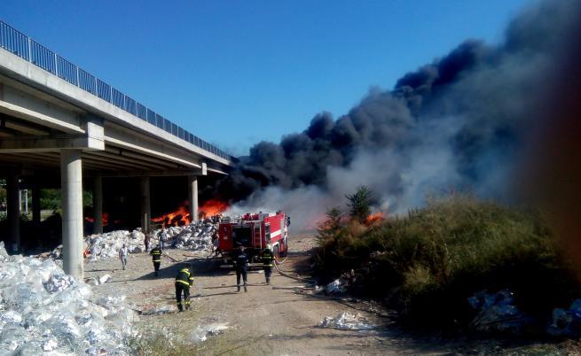 Втори пожар за два дни гори край Дупница