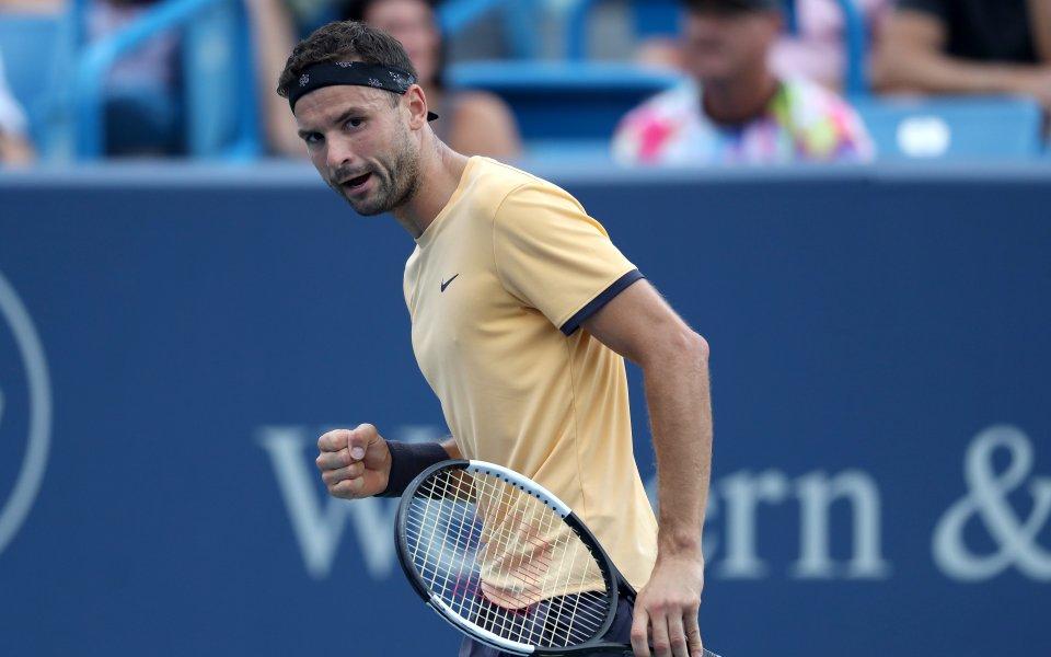 Григор Димитров ще започне откритото първенство по тенис на САЩ