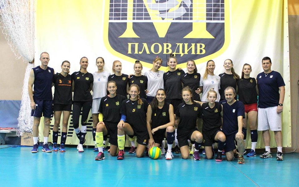 Женският волейболен шампион на България и носител на Купата на