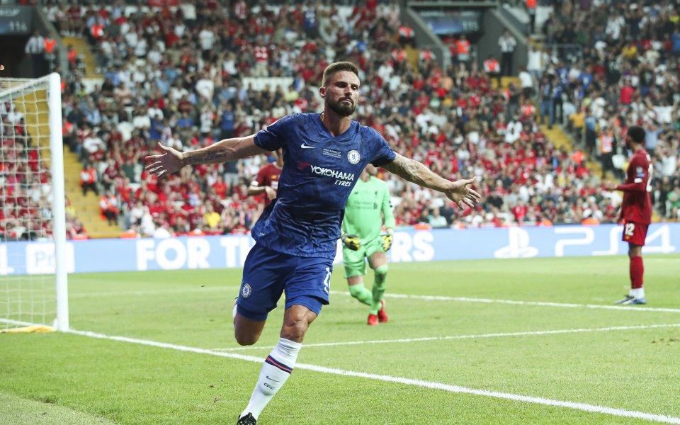 Ливърпул и Челси играят при резултат 1:1в мача наза Суперкупата