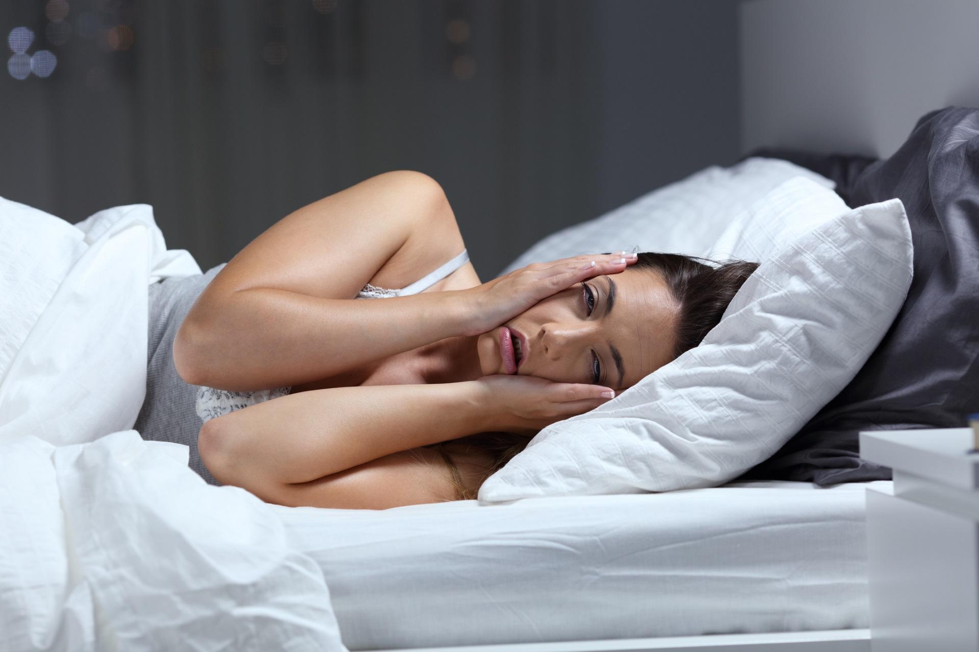 <p>Неспокоен сън с прекъсвания</p>