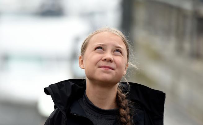 """Грета Тунберг: """"Хората трябва да се обединят, за да притиснат властта"""""""