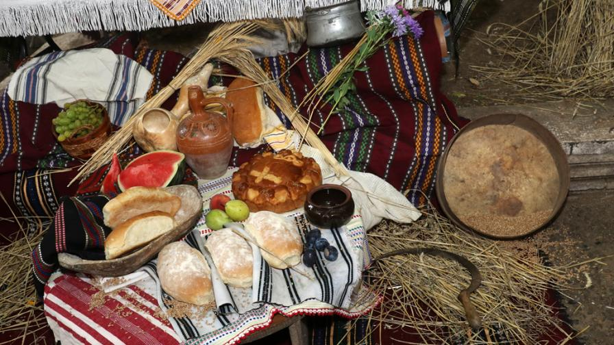 Панагия - Въздигане на Хляба