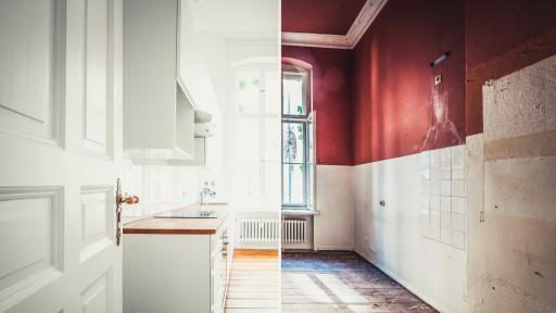 <p>Невероятни кухненски трансформации <strong>след ремонт</strong></p>