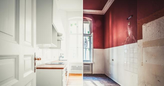 Снимка: Невероятни кухненски трансформации след ремонт