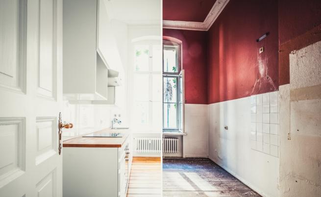 Невероятни кухненски трансформации след ремонт