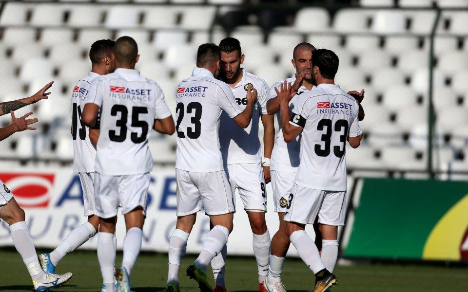 Славия обяви групата за мача с Дунав