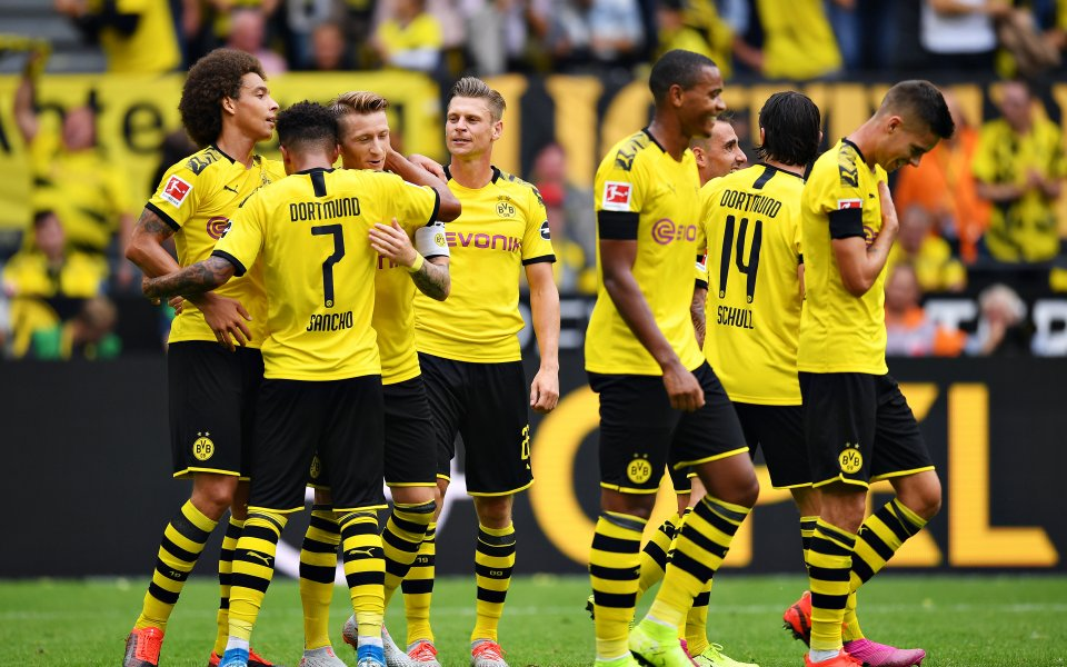 Борусия Дортмунд записа убедителна победа срещу гостуващия Байер Леверкузен с