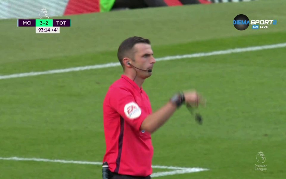 Уникална драма! ВАР отмени гол на Сити в последната секунда!