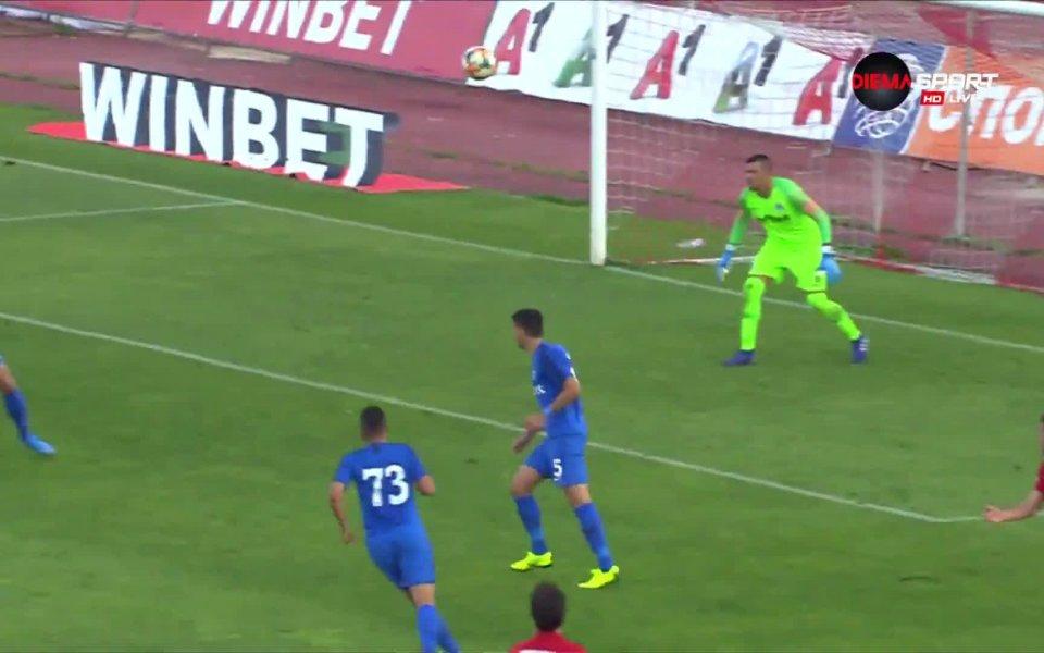 Али Соу направи резултата 3:1 в полза на ЦСКА в
