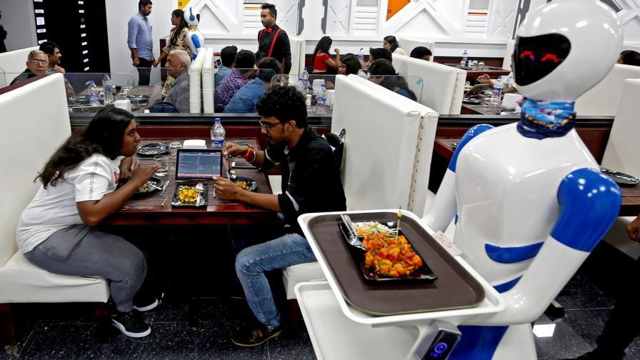 Ресторанта с роботите