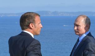 <p>Макрон: Европа от Лисабон до Владивосток</p>