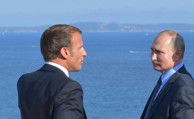 Макрон: Европа от Лисабон до Владивосток